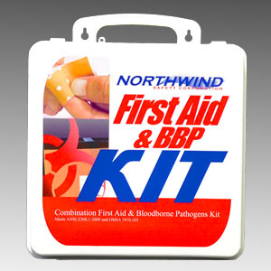 First Aid & BBP Combination Kit