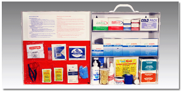 "FoodSafeâ""¢ First Aid Cabinet 300"